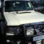 Land Cruiser Bonnet scopp